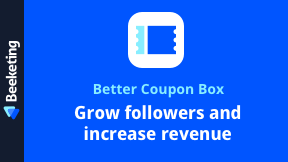 Better Coupon Box | Email Popup with Exit-intent