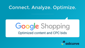 Adcurve - Der Google Shopping Optimizer