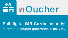 vOucher - Sell digital Gift Cards instantly!