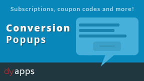 Conversion Popups